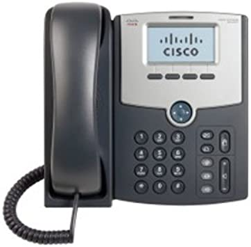 Caller ID Power Over Ethernet 1 x Total Line Cisco SPA 502 IP Phone Speakerphone Cable VoIP