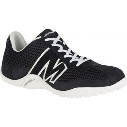Merrell Sprint Blast Suede/Mesh/Ltr, Sneaker Uomo NERO BLACK
