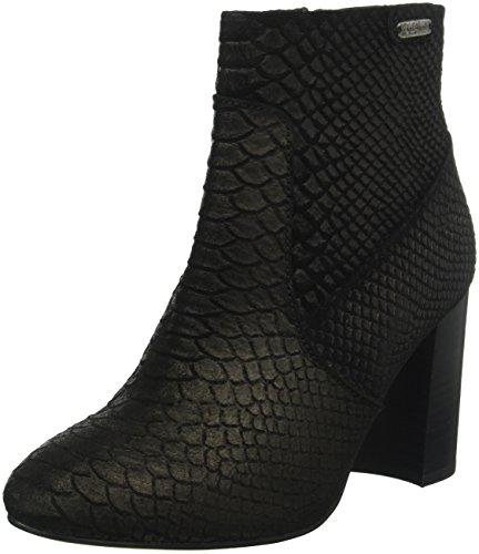Black Pepe Botas 999 Jeans Para Mujer Negro London Basic Snake Dylan vwPXvqZr