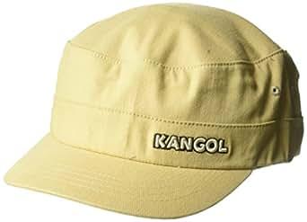 Kangol Men's Cotton Twill Army Cap, Beige, XXL