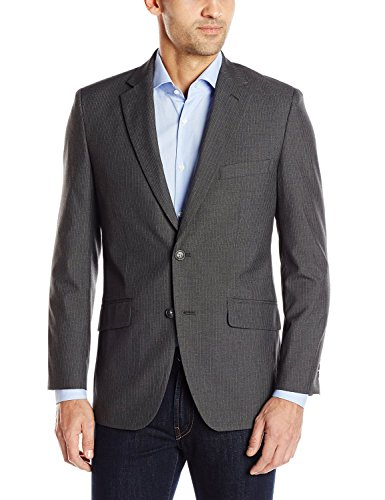 Haggar Clothing Men's Tailored Fit In Motion Blazer - 52 Regular - Midnight -
