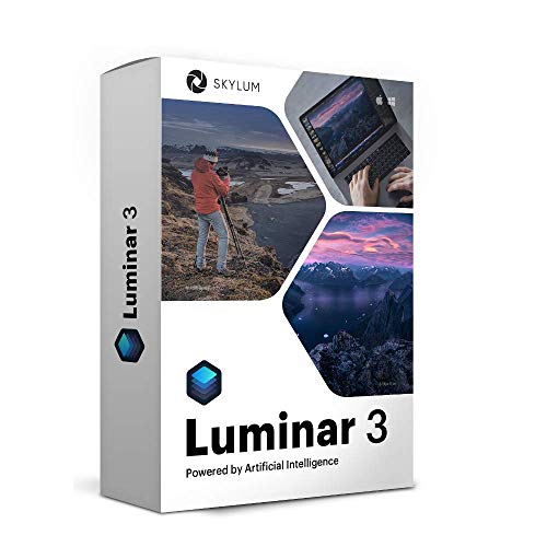 Luminar 3 Photo Editing Software | Professional Image Editing Software with an Easy to Use Interface and Image Libraries | for Mac or PC by Skylum Software