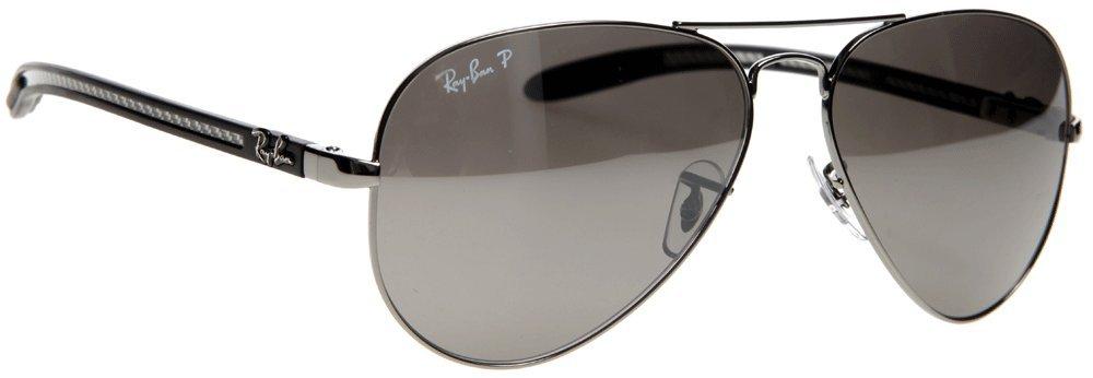 5e2be2acbc1 Ray-Ban Sunglasses - RB8307   Frame  Gunmetal Lens  Polarized Crystal Gray  Silver Mirror  Amazon.ca  Sports   Outdoors