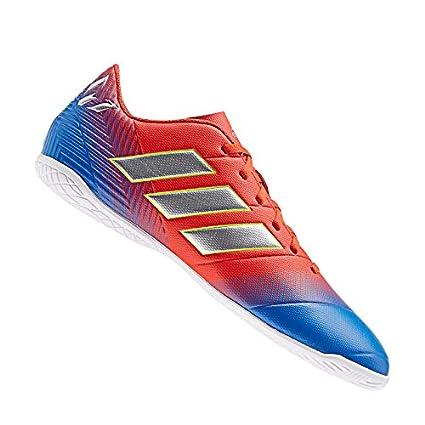 adidas Nemeziz Messi 18.4 IN Halle Rot Blau:
