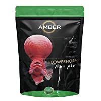 TAIYO AMBER MAX PRO FLOWERHORN Food 100G Pouch (Large) (Buy 100G & get 50G Free)