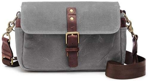 Leica The Bowery Collection by ONA Canvas Camera Bag Smoke