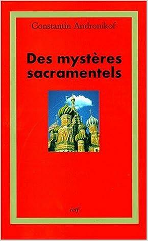Télécharger en ligne Des mystères sacramentels epub, pdf