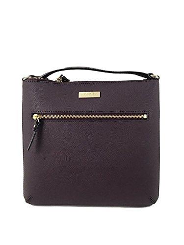 Kate Spade York Rima Laurel Way Leather Crossbody Bag In Mahogany
