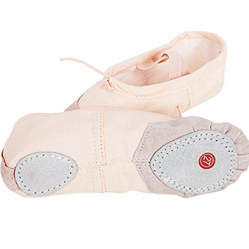 SQIAO-X- Scarpe da ballo fondo morbido Gatto Paw scarpe ragazze per adulti scarpe da ballo le donne a praticare Yoga scarpe scarpe di tela e di 38 metri /23cm