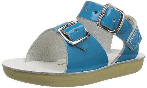 Salt Water Style 1700 Sun-San Surfer Sandal,Turquoise,9 M US Toddler