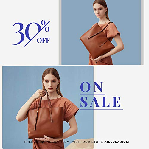 AILLOSA Purses and Handbags for Women Satchel Shoulder Tote Bags by AILLOSA (Image #5)