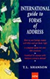 img - for International Guide to Forms of Address book / textbook / text book