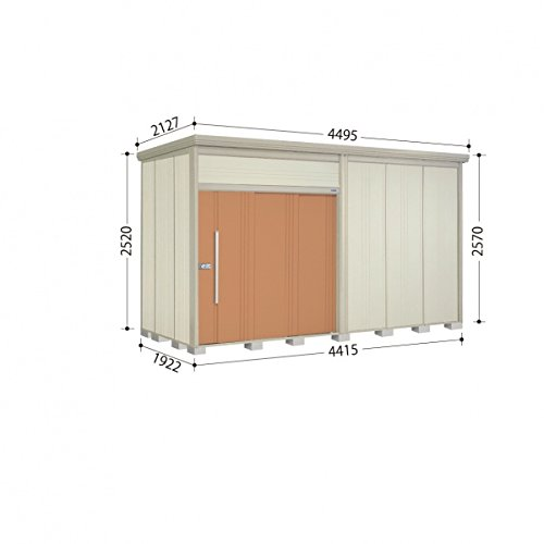 タクボ物置 JN/トールマン JN-4419 一般型 標準屋根 『屋外用中型大型物置』 トロピカルオレンジ B00GQWMXTM