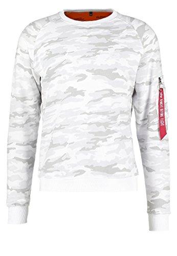 colore misura bianco Maglione Alpha fit mimetico X m Industries qIpzwY6