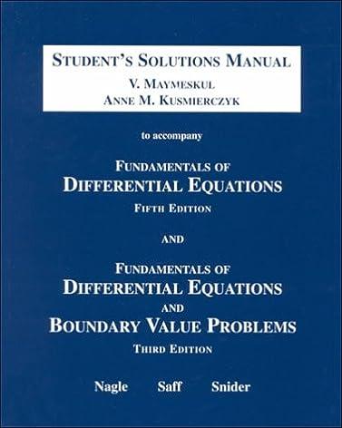 fundamentals of differential equations and boundary value problems rh amazon com fundamentals of differential equations 9th edition solutions manual pdf fundamentals of differential equations 9th edition solutions manual