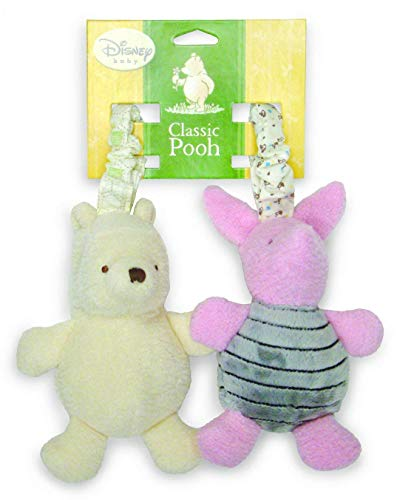 Classic Pooh Hanging Chimes - Pooh and Piglet - Set of 2 (Winnie Pooh Crib Mobile)