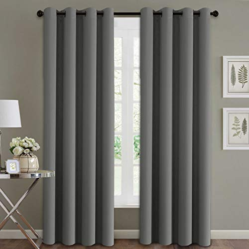 extra long blackout curtains - 1