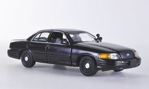 ford-crown-victoria-black-model-car-ready-made-first-response-143