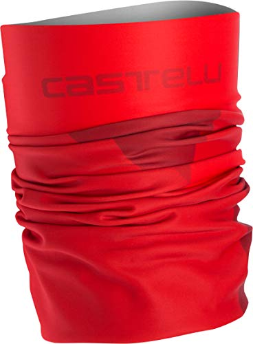 (Castelli Arrivo 3 Thermo Head Thingy Red, One Size)