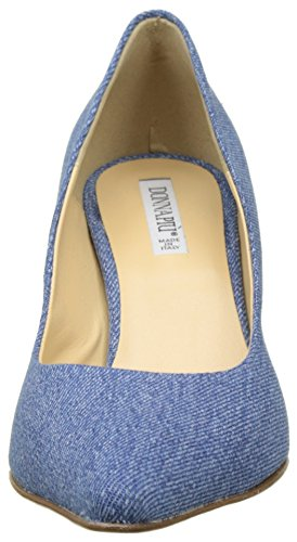 Zapatos jutta Con 9000 Para Maty Azul Punta De Tacón Mujer Donna Piu Jeans Cerrada E4SAPqxWf