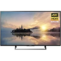 Sony 55 KD-43X720E 4K Ultra HD Smart LED TV (2017 Model) (Certified Refurbished)