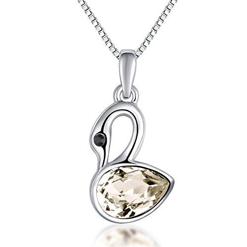 LaxBa Moda ciondolo piccolo coreano collana di cristallo breve ciondolo  oggetto moda di lusso europeo e 3f58dddbaad6