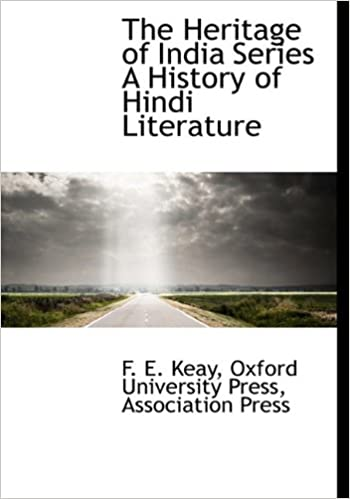 Book The Heritage of India Series A History of Hindi Literature
