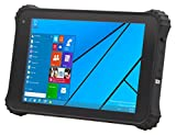 Vanquisher 8-Inch Sunlight Readable Outdoor Tablet PC, Windows 10 OS / 64G / IP67 Waterproof / Rugged Design For Enterprise Field Application