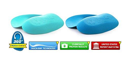 Heel That Pain Sensitive Feet Starter Kit - Gel and Original Heel Seats Foot Orthotic Inserts - Heel Cups Cushions Insoles for Plantar Fasciitis, Heel Spurs, Medium (Women's 7-10, Men's 5-8)