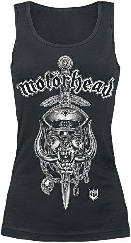 Motörhead Hiro Dagger Top Mujer Negro Negro