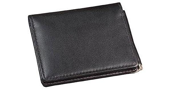 I.D Card Holder Winn International Cowhide Napa Leather Credit Card Case