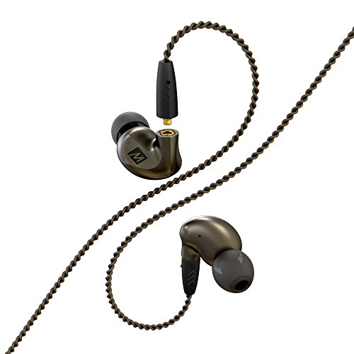 MEE audio Pinnacle P1 High Fidelity Audiophile In-Ear Headphones with Detachable Cables by MEE audio