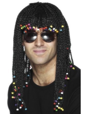 Braided Wig with Beads Costume (Braided Costumes Wig)