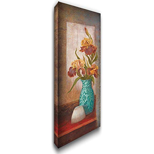 Spiced Jewels - Spiced Jewels II 20x60 Extra Large Gallery Wrapped Stretched Canvas Art by Wacaster, Linda