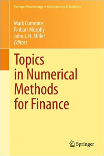 Electronics pdf books download Topics in Numerical Methods for Finance (Springer Proceedings in Mathematics & Statistics) in German PDF