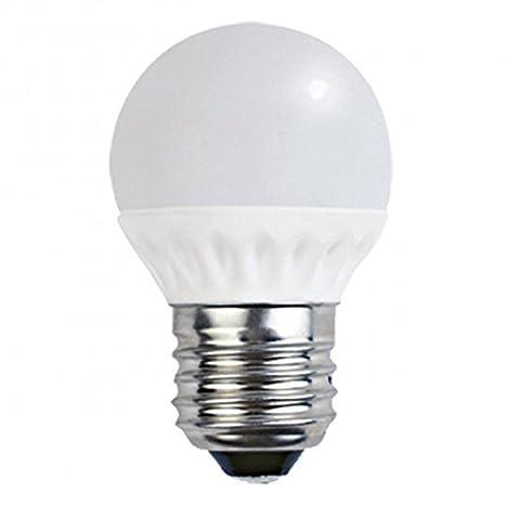 Bombilla LED esférica 7W E27 Luz neutra 4000ºK, Alta luminosidad: 600 Lúmenes: Amazon.es: Iluminación