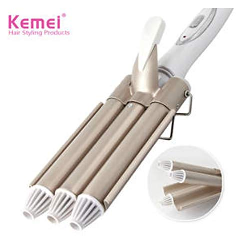 Hair Curling Iron Triple Barrel Ceramic Hair Waver Wand Tong Hair Pearl Waving Styling Tools