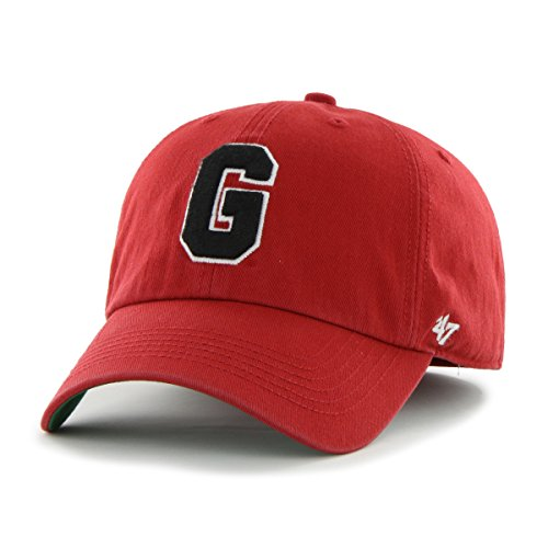 '47 NCAA Georgia Bulldogs Franchise Fitted Hat, Red 2,
