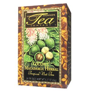 Coconut Macadamia Herbal 20 Teabag
