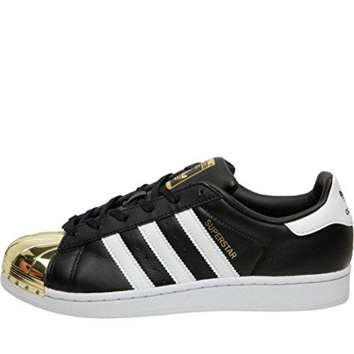 Adidas Superstar 80s Damer Sneaker Sort Sort / Hvid / Guld KEHY2QBu
