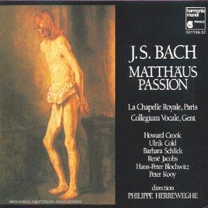 Price comparison product image J. S. Bach Matthaus Passion