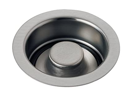 delta faucet 72030 ss classic 4 12 inch sink disposal and - Sink Flange