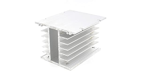 TSR 3 Phase Solid State Relay Heat Sink 110mm X 100mm X 80mm