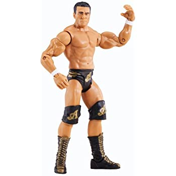 WWE Mattel Basics Series 31 Alberto Del Rio Action Figure #48