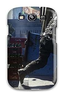 New Call Of Duty: Advanced Warfare Tpu Case Cover, Anti-scratch JeffreyLynne Phone Case For Galaxy S3