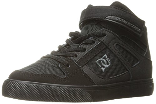 DC Kids Youth Spartan High EV Skate Shoes Sneaker Schwarz/Schwarz/Schwarz