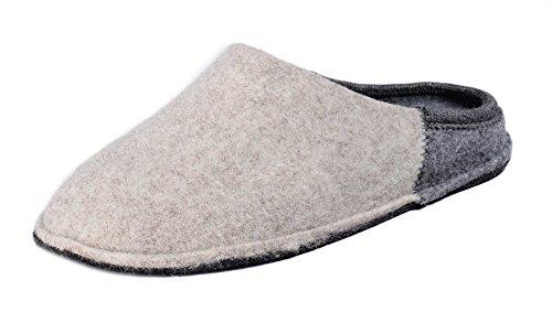 Invernale Donna Con Panno Nuvola Plantare Clare Lana Bicolore Di Estraibile Pantofola Le Beigegrigio In xvIqpXnH