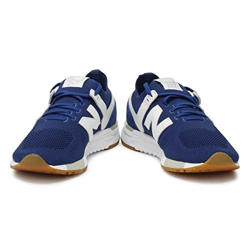 New Balance Men's 247 Mesh Trainers, Blue Blue