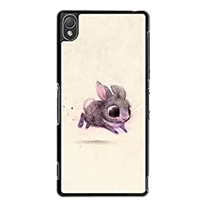 Sony Xperia Z3 Phone Case Grotesque Image Series Print Cover Back Snap on Sony Xperia Z3 Individual Character Mobile Shell