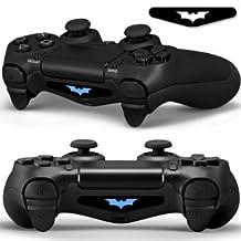 2x Playstation 4 Light Bar Decals Batman Gamergeekz
